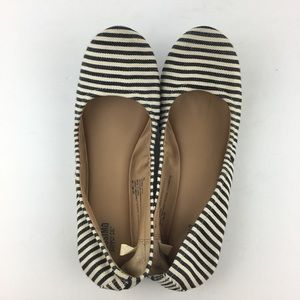 Mossimo Striped Ballet Flats